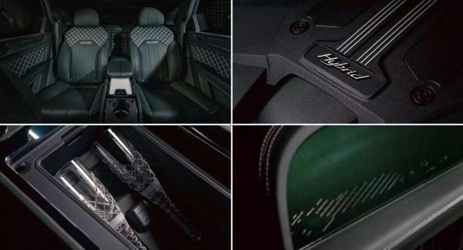 Bentley показала Bentayga Hybrid от Mulliner