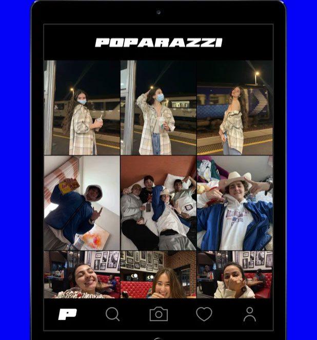 Poparazzi – конкурент Instagram и самое загружаемое приложение в США