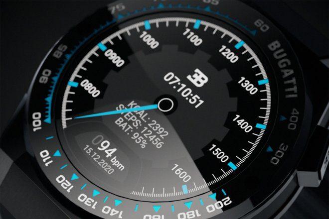 Bugatti выпустит смарт-часы премиум-класса