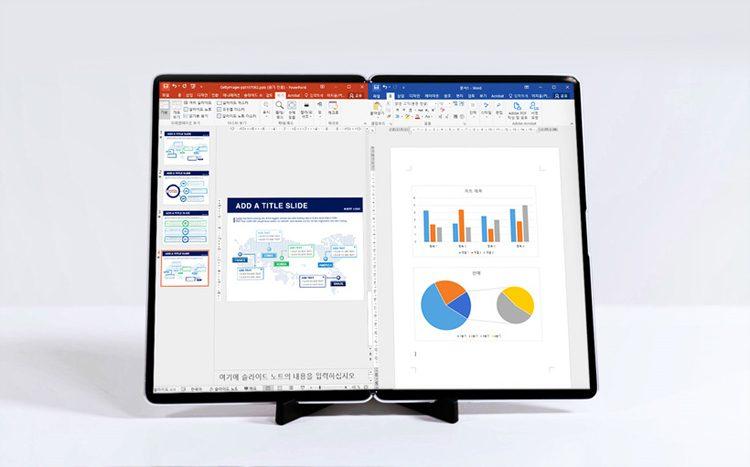Samsung показала гибкий S-образный экран