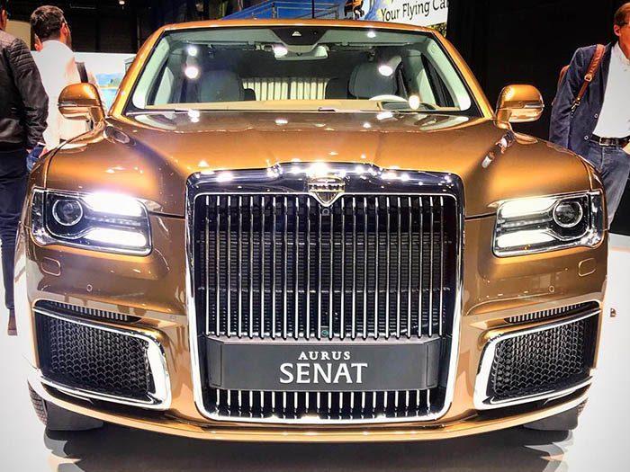 Премиальные российские автомобили Aurus выпускают в серийное производство