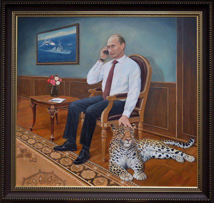 Владимиру Путину – 69! 25 художников, изобразивших Президента России