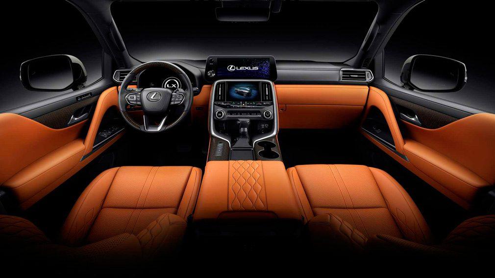 Lexus представил новый LX600